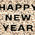 happy · new · year · metin · siyah · bezelye · yazılı · kurutulmuş - stok fotoğraf © sarahdoow