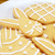 close up of frosted easter cookies on a plate stock photo © sarahdoow