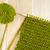 groene · wol · kouseband · steek · naald - stockfoto © sarahdoow