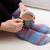 mulher · bebida · quente · quente · tricotado - foto stock © sarahdoow