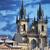 kerk · dame · Praag · dominant · oude · binnenstad - stockfoto © sarkao
