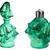 antique perfume bottles stock photo © sarkao