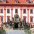 escaleras · Praga · casa · edificio · nieve · castillo - foto stock © sarkao