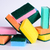 colorido · quadro · casa · abstrato · casa - foto stock © sarkao