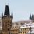 telhados · Praga · topo · ver · azulejos · velho - foto stock © sarkao