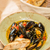 moules marinieres   mussels cooked with white wine sauce stock photo © sarymsakov