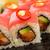 maki · sushi · rollen · komkommer · room · kaas - stockfoto © sarymsakov