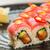 sushi · pepino · isolado · branco · comida · verde - foto stock © sarymsakov