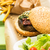 Delicious burger stock photo © sarymsakov