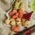 クッキー · 装飾された · リボン · 暗い · 赤 · 水玉模様 - ストックフォト © sarymsakov