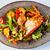 lobster salad in japanese style stock photo © sarymsakov