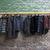 trendi · ruházat · grunge · téglafal · férfi · szoba - stock fotó © sarymsakov