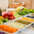 salade · bestanddeel · hout · zomer · diner · tomaat - stockfoto © sarymsakov