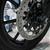 new shiny brake discs on motorcycle stock photo © sarymsakov