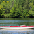 sunfish boat on a lake stock photo © sbonk