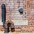 mur · de · briques · pipe · texture · courir · eau · ville - photo stock © sbonk