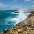 waves crashing over coastline at devils bridge antigua stock photo © scheriton