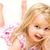bebê · sorridente · nu · menina · casa - foto stock © scheriton