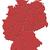 mapa · Alemanha · político · vários · abstrato · fundo - foto stock © schwabenblitz