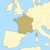 kaart · Frankrijk · politiek · verscheidene · regio · abstract - stockfoto © Schwabenblitz