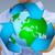 wereldbol · recycling · icon · 3d · render - stockfoto © sdecoret