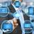 бизнесмен · Tech · мультимедийные - Сток-фото © sdecoret