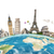иллюстрация · известный · Мир · памятники · земле · лет - Сток-фото © sdecoret