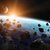 meteorit · Föld · űr · kilátás · égbolt · földgömb - stock fotó © sdecoret