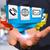 zakenman · moderne · digitale · origami · icon · toepassing - stockfoto © sdecoret