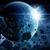 météorite · planète · terre · espace · vue · ciel · monde - photo stock © sdecoret