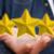 young man rating stars stock photo © sdecoret