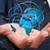 mundo · mãos · terra · mapa · mapa · do · mundo · homem - foto stock © sdecoret