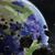 explosão · terra · textura · globo · natureza · mar - foto stock © sdecoret