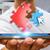 affaires · modernes · numérique · téléphone · portable · applications · jeune · homme - photo stock © sdecoret