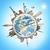 известный · памятники · Мир · планете · Земля · вместе · лет - Сток-фото © sdecoret