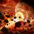 meteoriet · planeet · ruimte · wereldbol · licht - stockfoto © sdecoret