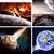 поверхность · Цифровая · иллюстрация · земле · дым · звезды · рок - Сток-фото © sdecoret