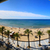 gyönyörű · Barcelona · tengerpart · panoráma · naplemente · óceán - stock fotó © sdecoret