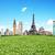 hierba · mundo · Europa · aislado · blanco · 3d - foto stock © sdecoret