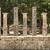 seven greek pillars at olympus stock photo © searagen