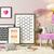 zwarte · foto · frames · roze · muur - stockfoto © sedatseven