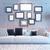 salon · wystrój · wnętrz · 3D · Fotografia · ramki - zdjęcia stock © sedatseven
