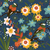 giardino · botanico · uccelli · vettore · floreale · piccolo - foto d'archivio © selenamay