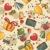 birthday seamless wallpaper stock photo © selenamay