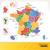 frans · kaart · Frankrijk · geen · gradiënten · apart - stockfoto © selenamay