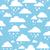 seamless pattern with rainy clouds stock photo © selenamay
