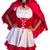 Little red riding hood standing with hand on hips stock photo © serendipitymemories