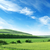 terep · kék · ég · tavasz · fű · természet · tájkép - stock fotó © serg64