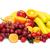 isolado · cerejas · folha · fruto · verão · vermelho - foto stock © serg64