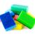esponja · isolado · branco · espaço · verde - foto stock © serg64